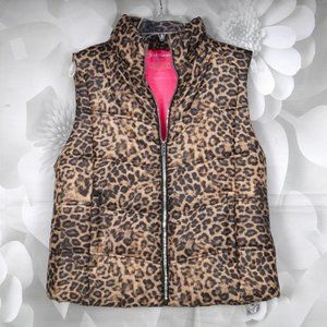Juicy Couture Fashion Zip Front Puffer Jacket Vest